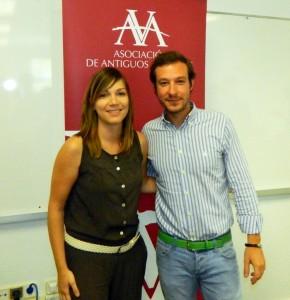 Desayuno de trabajo con Juan Merodio y Pilar Vallejo de renombre marketing y comunicación
